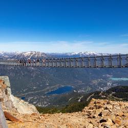 Whistler Mountain Peak Suspension Bridge