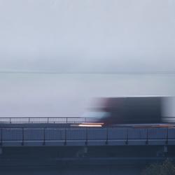 Snel door de mist