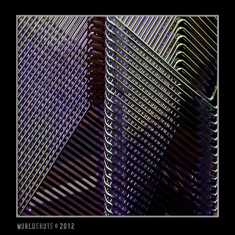 abstract - Degene die weet waar dit een detail van is mag het zeggen. Ben benieuwd