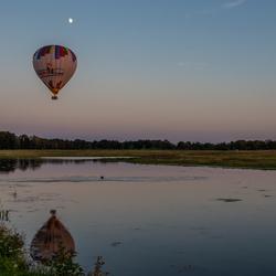 Blue moon balloon lagoon