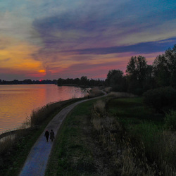 Avond wandeling