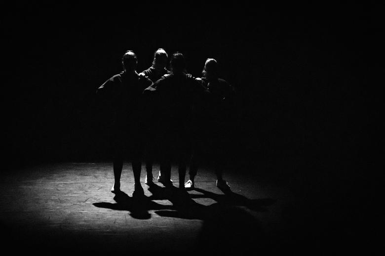 Een beetje verlicht... - Foto genomen in Theater Castellum te Alphen aan den Rijn.