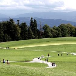 wandeling in park Gurten (Bern)