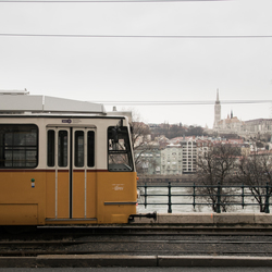 Tram in Boedapest