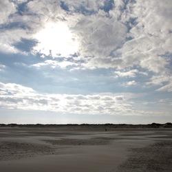 Ameland, verlaten strand