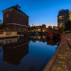 Bonte Brug Groningen by night