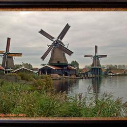 molens in de Zaanse Schans.