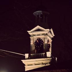 Church is the night