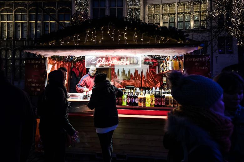 Gluhwein? - Nog steeds op de kerstmarkt Antwerpen....