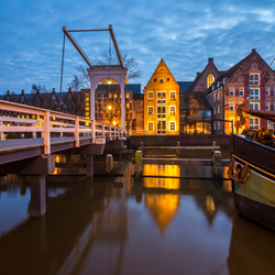 Blue hour in Zwolle