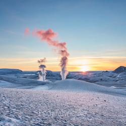 Krafla IJsland
