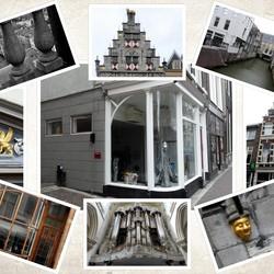 collage Dordrecht oude stad nr2  23 okt 2018