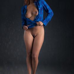 lumberjack blouse
