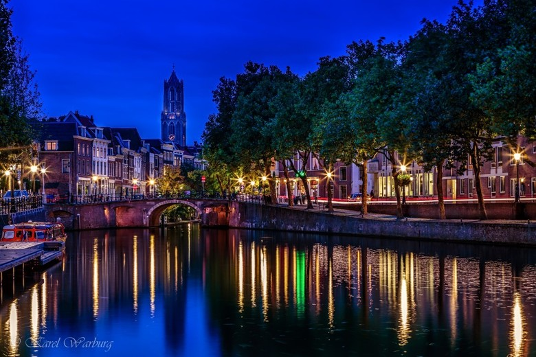 Zicht op stad Utrecht