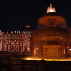 Sint Pieter bij nacht
