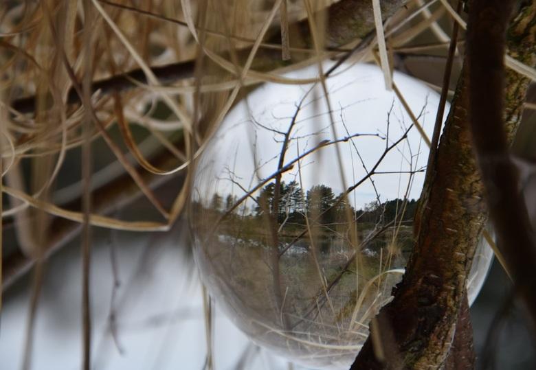 Bol fotografie - Aan het oefenen met de bol.
