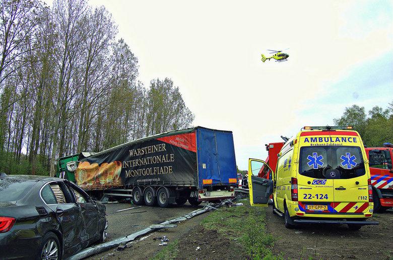 Dodelijk ongeluk A67 bij Geldrop