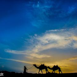 sunset wadirum