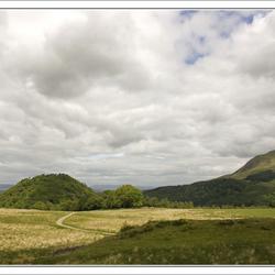 Volcanic hills Dumgoyach (Schotland)