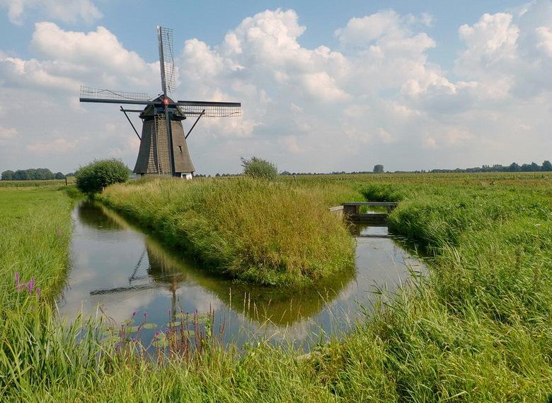 De Oude Doornse Molen. - Is een poldermolen gebouwd rond 1700 in de plaats Almkerk.<br /> De molen is van het type grondzeiler en is een achtkantige