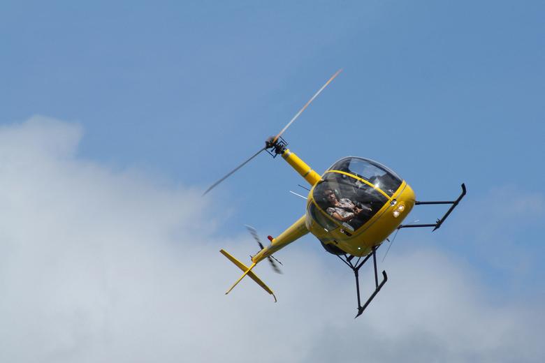 Airborne - Deze foto is genomen tijdens een<br /> vliegshow in zuid Frankrijk