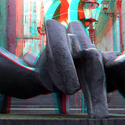 sculpture Oscar Goedhart Nijmegen 3D