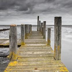 Steiger haven van Sil, de Cocksdorp Texel,
