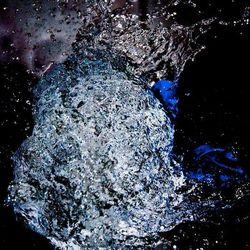 explosie van water