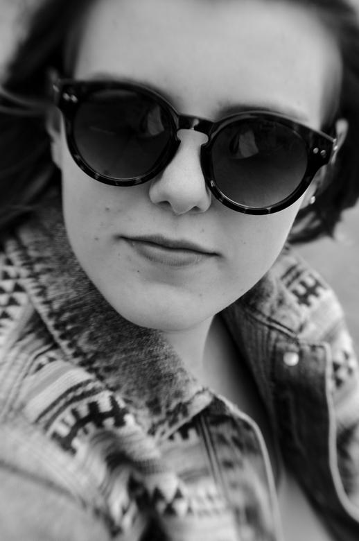 retro portret - portret gemaakt met lensbaby composer. fantastische lens om mee te spelen en orginele portretten mee te maken!