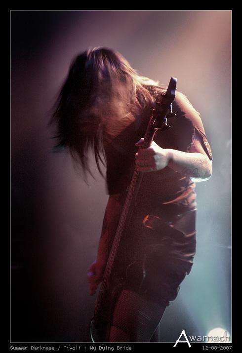 [Summer Darkness] My Dying Bride - My Dying Bride<br /> Summer Darkness 2007<br /> Tivoli, Utrecht<br /> (12-8-2007)