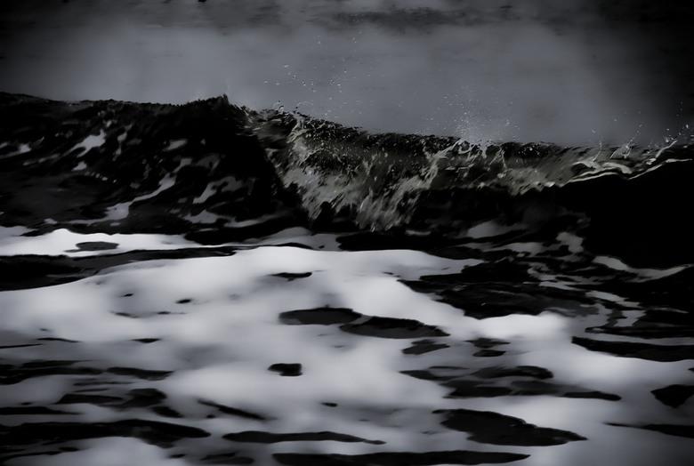 golven - golven aan strandt