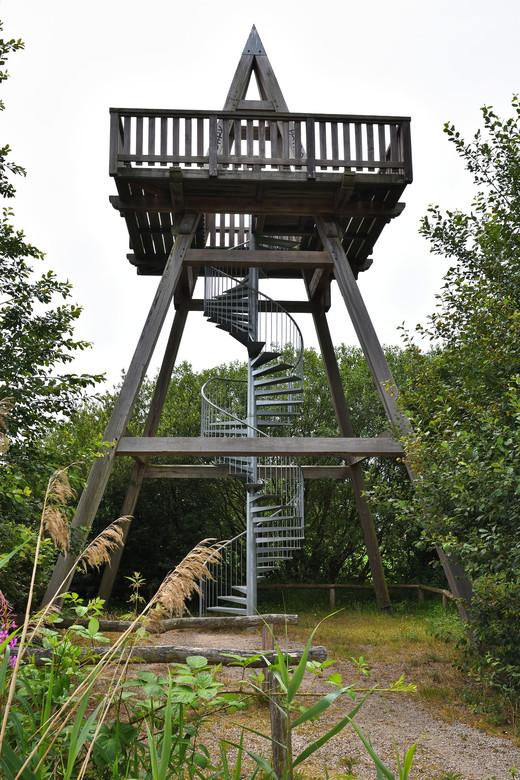 Upstairs - Uitkijktoren in het Reigersbroek tussen Montfort en St. Joost (Limburg).