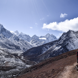 Hiking the Himalayas!