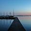Het Schildmeer even na zonsondergang