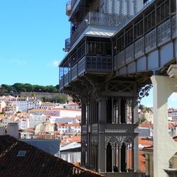 Elevador de Santa Justa (Lissabon)