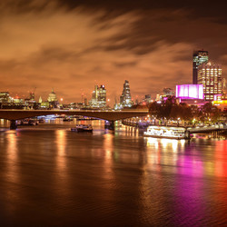 Londen at night