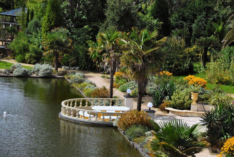 subtropische tuin in Nederland - SubTropische tuin Fort den Haak in Zeeland