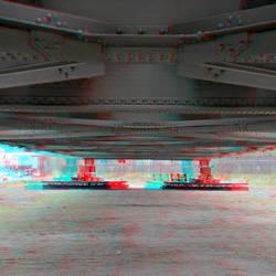 Hefgedeelte Spoorbrug Rotterdam 3D