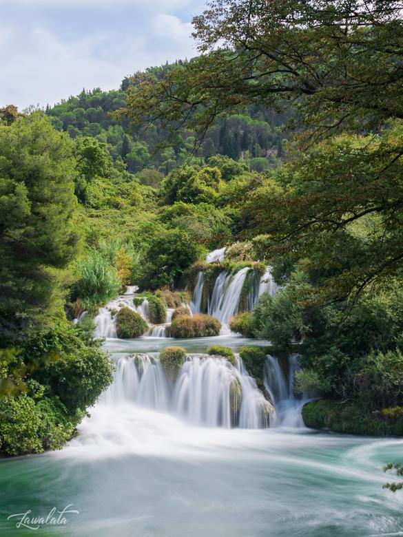 Krka National park - Deze foto is genomen in Kroatie, Krka national park. Hier heb ik kon ik mijn nd uitproberen.