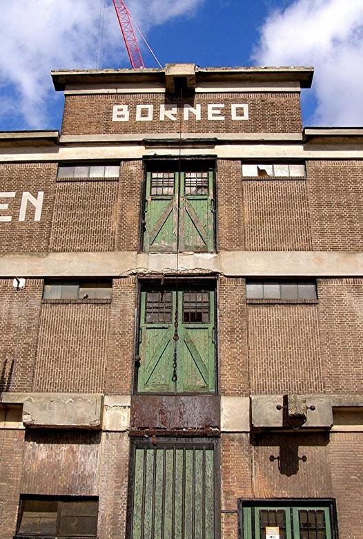 ROTTERDAM 05-09-2011 PAKHUIS BORNEO - ROTTERDAM 05-09-2011 <br /> <br /> Het oude pakhuis Borneo van Pakhuismeesteren kwam niet zo goe op de camera