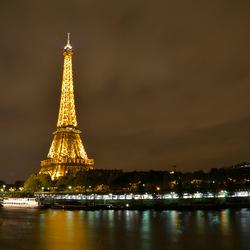 Eiffeltoren in de nacht