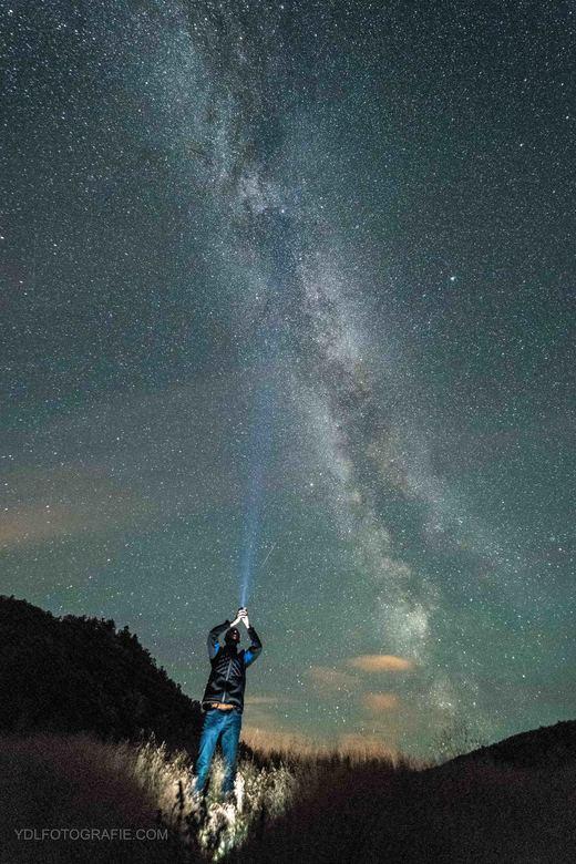 Melkwegselfie Noorwegen -