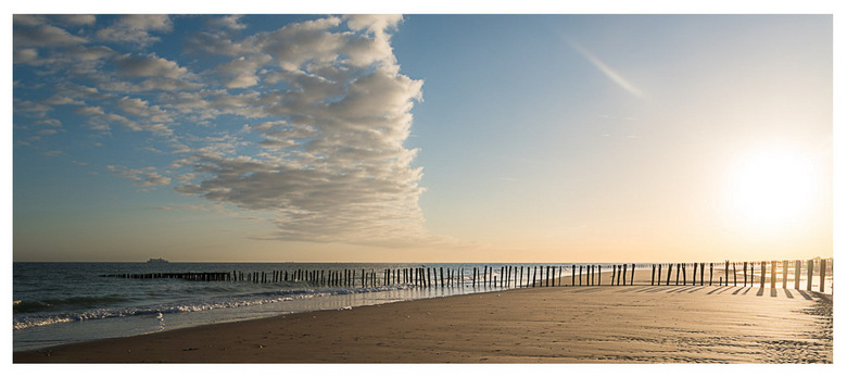 Sunrise at the beach - Zonsopgang in Sangatte