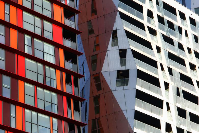 Calypso - Calypso, nieuwbouw appartementen aan de mauritsweg / achterzijde  schouwburgplein in Rotterdam.