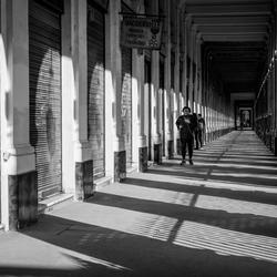 Straatfotografie light and dark