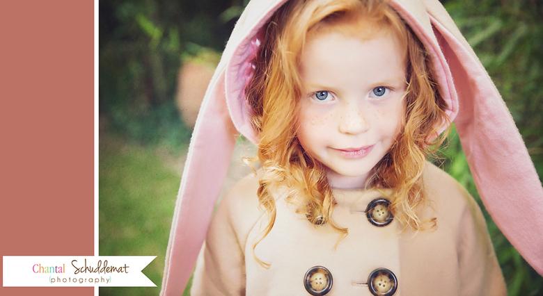 Kinderportret Raffaela littly Bunny - Een gestylde kindershoot in de sferen van een lief schattig konijntje. Gemaakt tijdens een workshop.<br /> <br