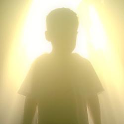 Engel aan de hemelpoort