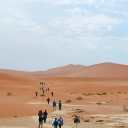 Approaching Deadvlei