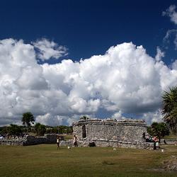 Ruines in Tulum