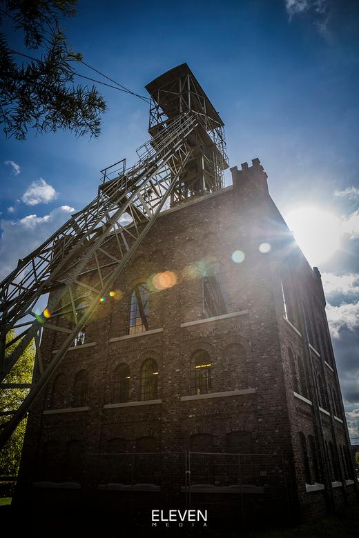 Nederlands Mijnmuseum Heerlen - Laatste restant van de ooit zo imposante Oranje Nassau Mijn I in Heerlen